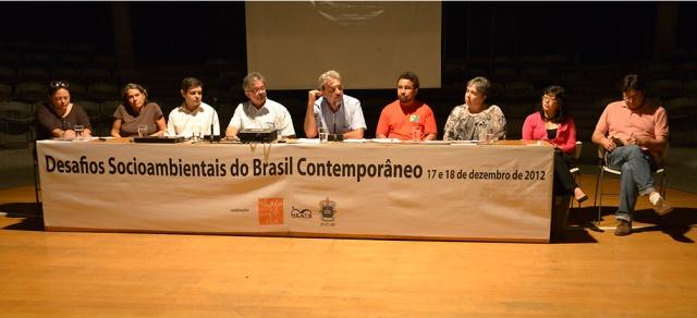 "Seminário: ""Desafios Socioambiental do Brasil Contemporâneo"""