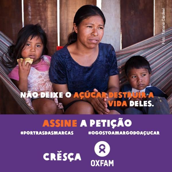 Campanha - Cresça - OXFAM
